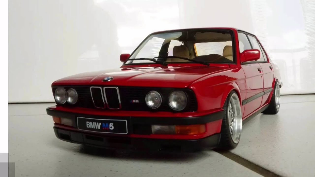 bmw m5 1987 1 18 tuning modellauto fullhd youtube. Black Bedroom Furniture Sets. Home Design Ideas