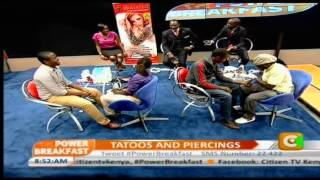 Power Brakfast: Tatoos and Piercings