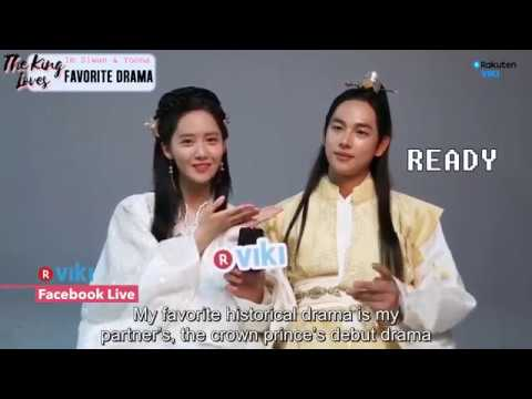 170711 YoonA and Siwan - The King In Love Viki Exclusive Interview