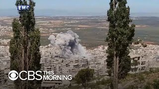 Russian strikes hit Syria ahead of expected Idlib assault
