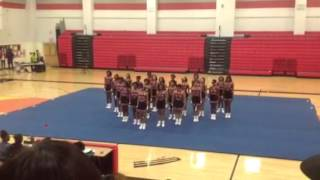 Phillip O. Berry Academy Cheerleaders 2013