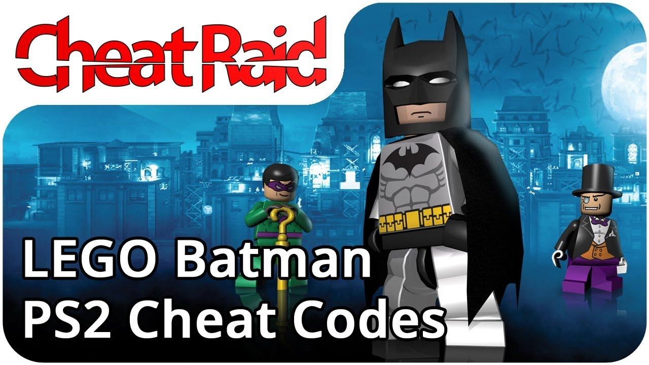 cheat code game lego batman ps2