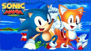 Sonic Mania Plus for PS4 Pro ᴴᴰ (2018) Full Sonic & Tails Playthrough (All Chaos Emeralds)