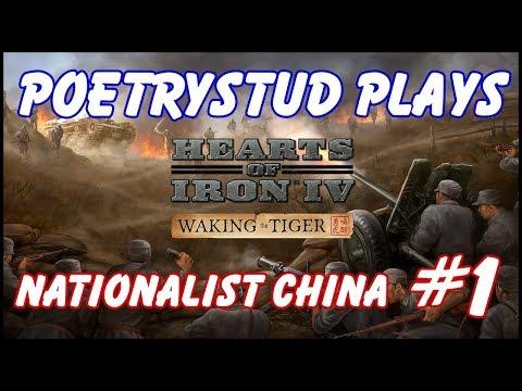 HoI4 Waking the Tiger - Nationalist China! - Episode 1