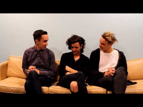 The 1975 interview where Matty Healy tried to set us on fire