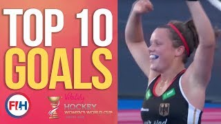 Top 10 Goals! | 2018 Women's World Cup
