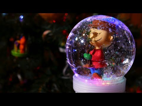 Make a Light-Up & Musical Snow Globe 🔮
