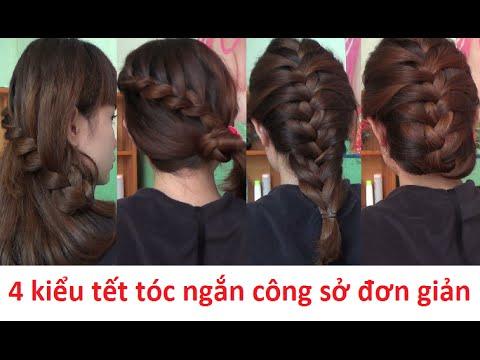 Hairstyles - 4 Kiểu Tết Tóc Ngắn Công Sở Đẹp & Đơn Giản