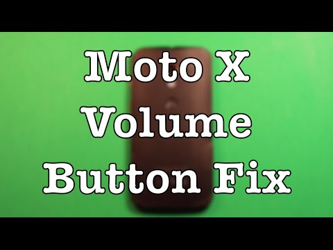 Moto X Volume Button Replacement How To Change