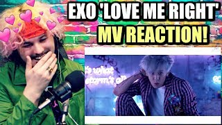 EXO 엑소 'LOVE ME RIGHT' MV | CHANYEOL SLAYING ME! | REACTION!!