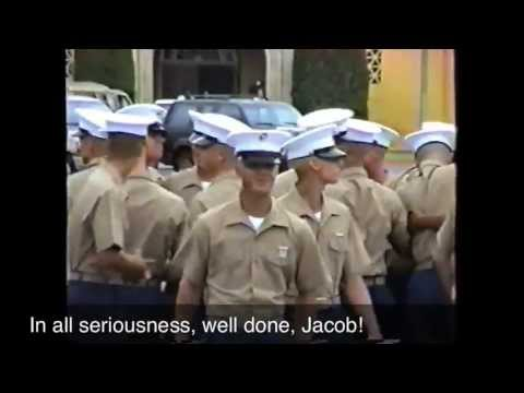 Jacob's Marine Graduation - 1997