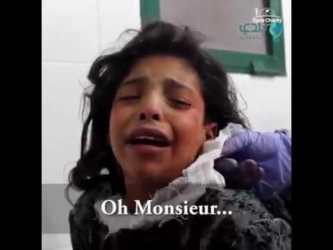 Ronaldo s'adresse au enfant syrien