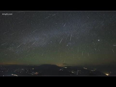Northwest U.S. sees mysterious meteor shower