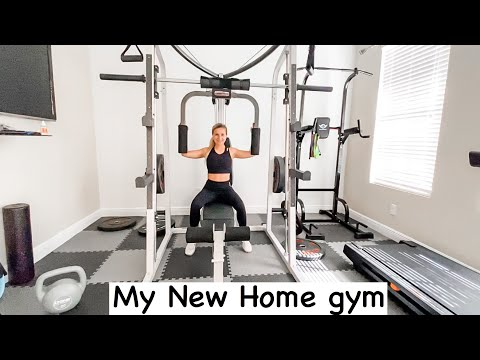 My Home Gym Equipment! Mercy Smith Machine Review