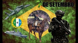 ARMED FORCES OF BRAZIL - INDEPENDENCY DAY