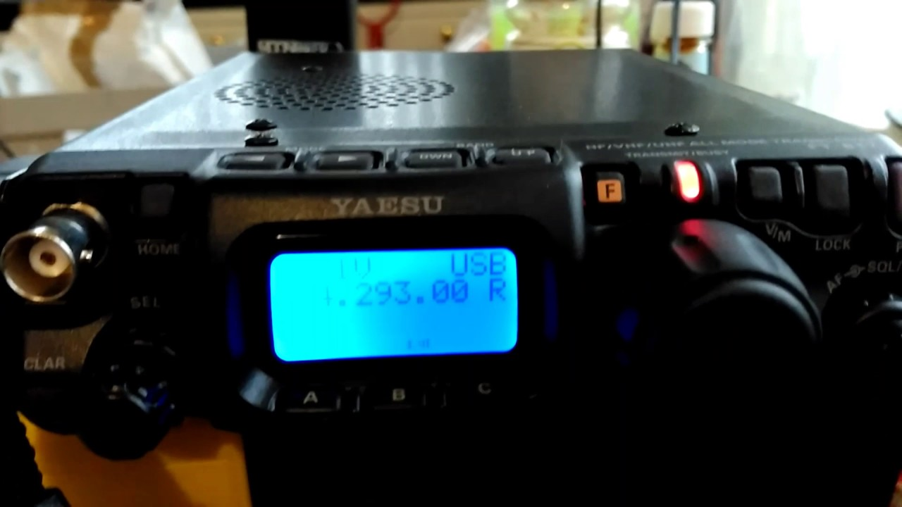 Yaesu ft817nd - Indoors dx with Whizz loop antenna QRP