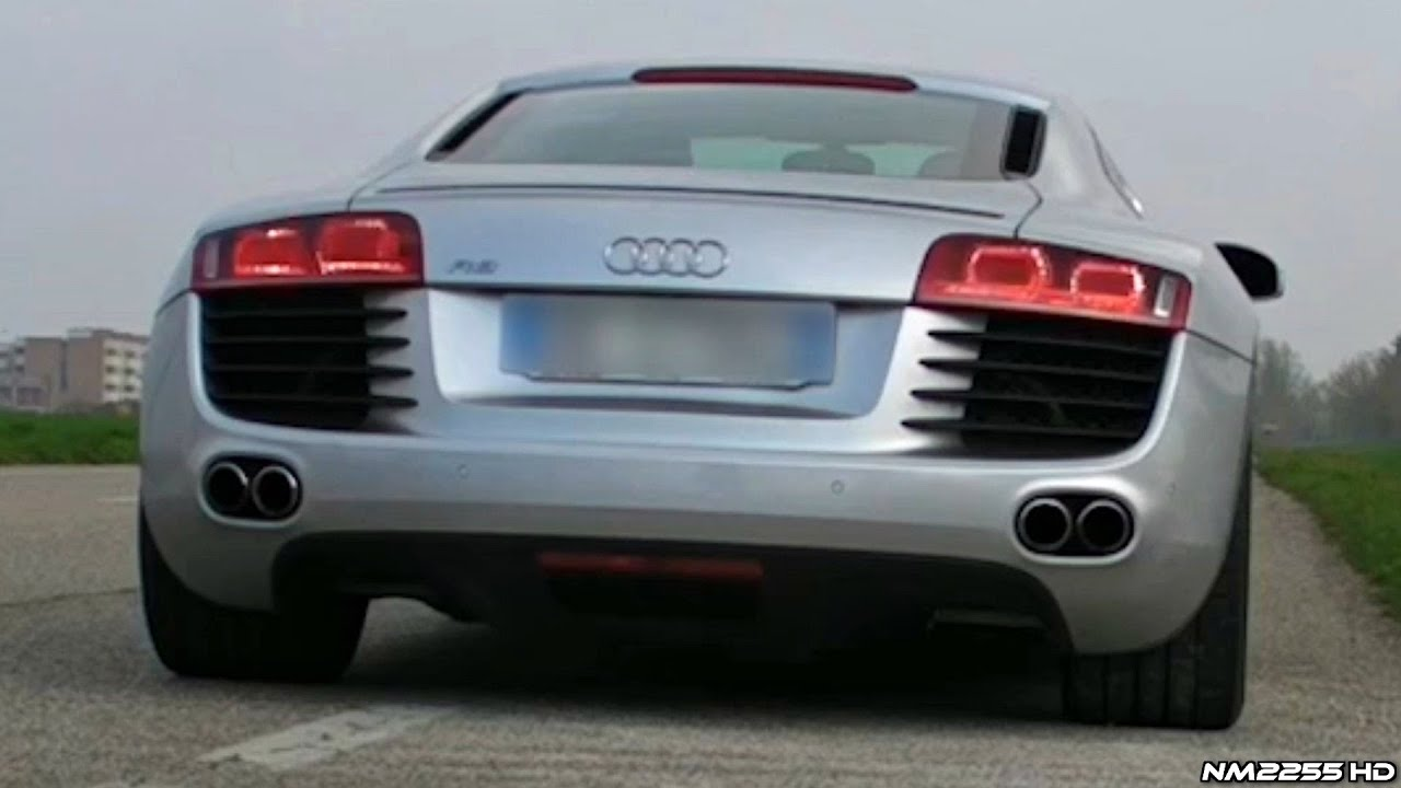Audi R8 4 2 V8 With Supersprint Exhaust Soundcheck Gorgeous Engine Note