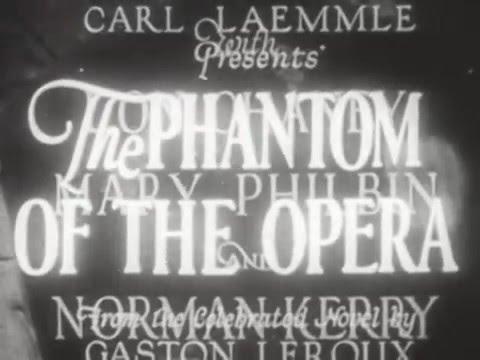 The Phantom of the Opera (Silent Film Breakers)