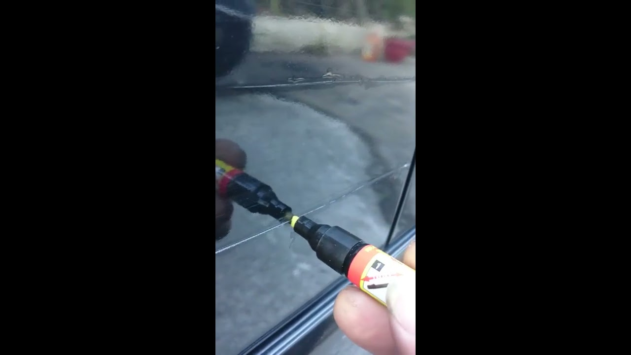 超神奇汽車刮痕修護筆!!非專業的實際測驗影片 - YouTube
