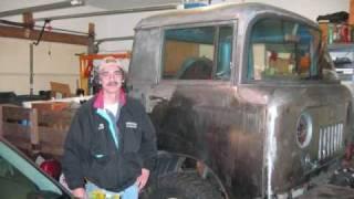 willys jeep forward control rear cab corner fabrication