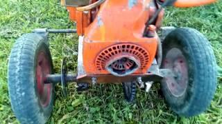 обзор трицикла из бензопилы урал
