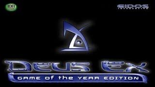 Deus Ex GOTY Edition gameplay (PC Game, 2001)