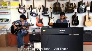 Nơi tình yêu bắt đầu Cover - Piano & Acoustic Guitar (Takamine)