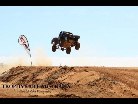 Loveday 4x4 Park Trophy Kart Celebrity Race 2013