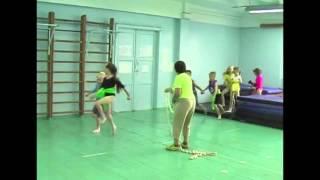 Внеурочная деятельность - урок акробатики