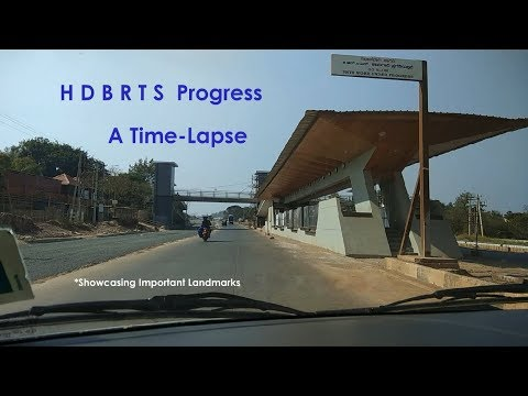 Hubli Dharwad BRTS, HDBRTS - Progress