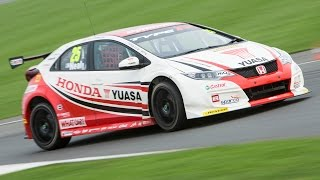 2015 Honda Civic Type R Btcc Racer Unleashed At Silverstone