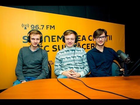 """Moldo Crescendo Trio"" în studioul radio Sputnik Moldova"