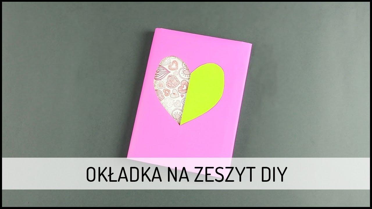 Okładka na zeszyt | DIY DOMODI TV
