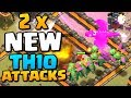 2 x NEW TH10 Attack Strategies 2018   Town Hall 10 3 Star Attacks   Clash of Clans