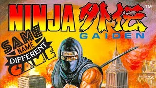 Same Name, Different Game: Ninja Gaiden (featuring Kim Justice, Console Wars & more!)