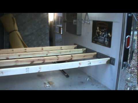 7x14' Enclosed Trailer / Tramper Conversion Part 8 - YouTube
