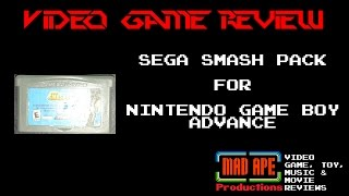 Sega Smash Pack Review for Nintendo Game Boy Advance