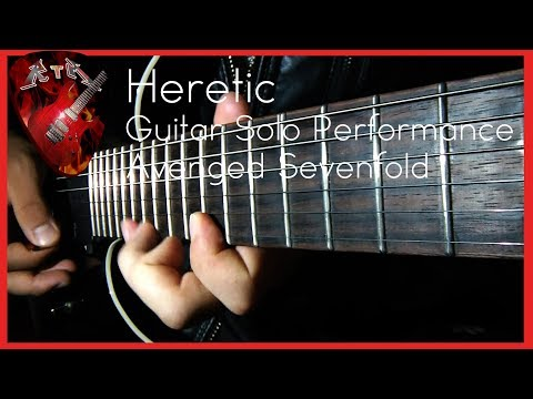 Heretic Guitar Solo Performance - Avenged Sevenfold