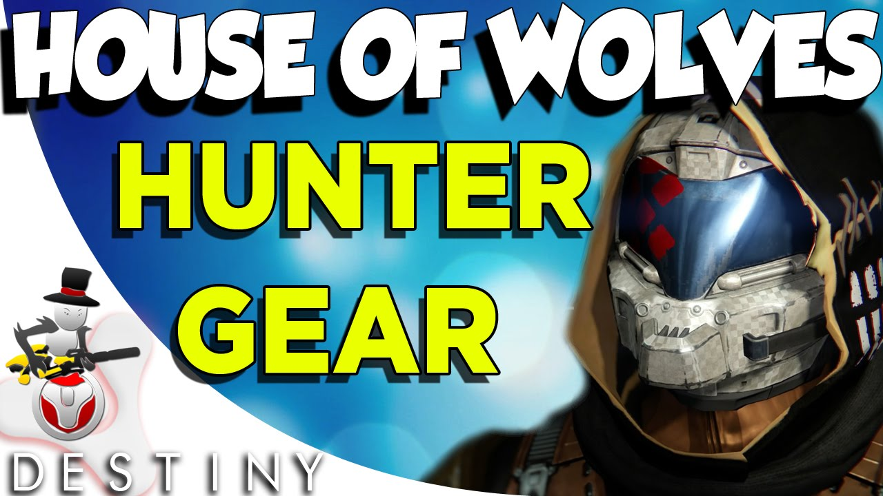 Destiny Hunter Wolf Armor 81869