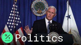 Pence Claims Virus Cases Are Flattening In Arizona, Florida And Texas