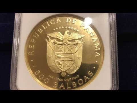 NEVER SEEN BEFORE Large Gold Bullion Coins from America and the South Pacific