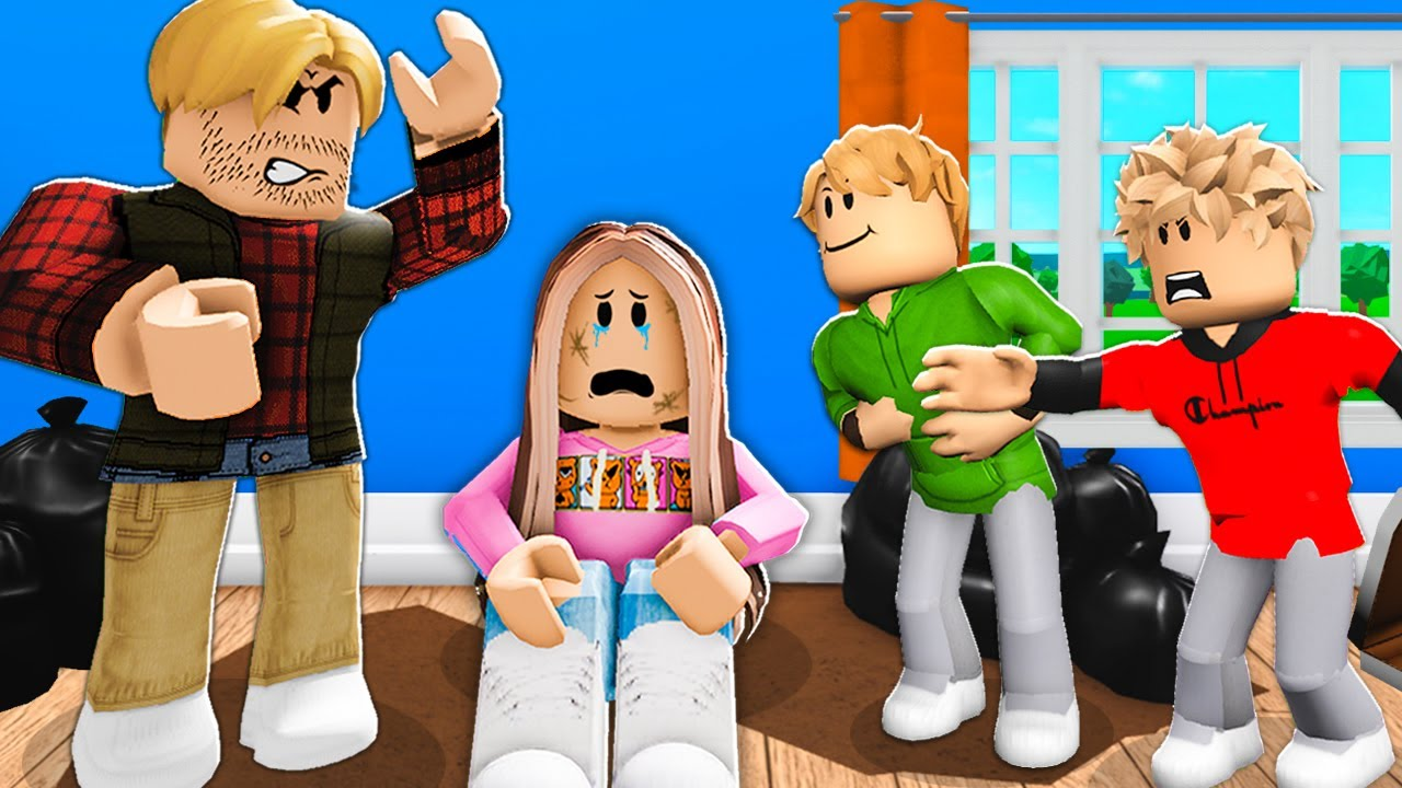 Only GIRL In The Family.. (Roblox Bloxburg)