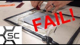 Vacuum Infusion Fail!