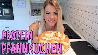 Der BESTE Protein Pfannkuchen | Pancake - 49 Kalorien, 11g Protein - NO CARB - Rezept