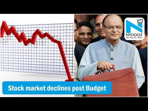 Indian Stock Market Falls | Capital Gains Tax | Budget 2018 | Nyoooz TV