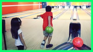 Our First Bowling Vlog