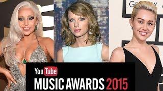 2015 YouTube Music Award Winners & New Format Announced!