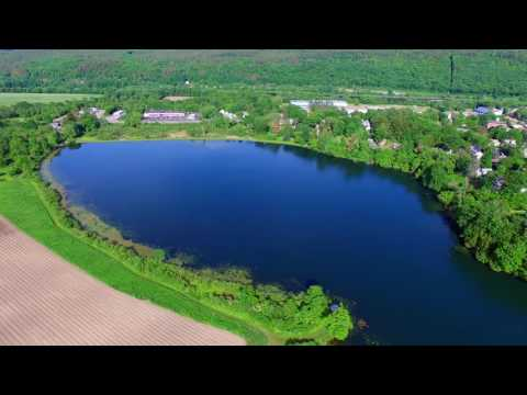 Windsor VT From Above - Paradise Park and Lake Runnemede - Green Mountain Drone