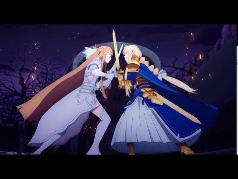 Asuna Vs Alice Sword Art Online War Of Underworld Episode 10 Youtube