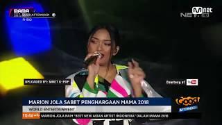 Download Video Marion Jola Dapat Penghargaan Di Acara Mama 2018 MP3 3GP MP4